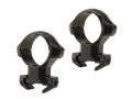 "Millett 1"" Angle-Loc Windage Adjustable Weaver-Style Rings Engraved Gloss High"