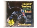 Quaker Boy Talkin&#39; Turkey Spring &amp; Fall Instructional Turkey Call Audio CD