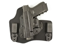 "DeSantis Invader Inside the Waistband Holster 1911 Officer 3"" to 3-1/2"" Barrel Kydex and Nylon Black"