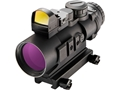 Burris AR-536 5x 36mm Prism Sight Ballistic CQ Reticle Matte with FastFire II Reflex Red Dot Sight 4 MOA with Picatinny Mount Matte