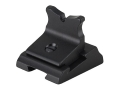 "Product detail of Williams Rear Sight Blade U Notch 3/8"" Height Aluminum Black"