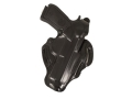 DeSantis Thumb Break Scabbard Belt Holster Right Hand Beretta 92-A1 Leather Black