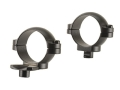"Leupold 1"" Quick-Release Rings Extended Front Gun Metal Gray Low"
