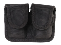 Bianchi 7301 Speedloader Pouch Medium Frame Revolver Velcro Closure Nylon Black