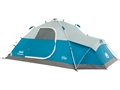 "Coleman Juniper Lake 4 Man Instant Dome Tent 78x""x 108""x50"" with Annex Polyester White and Blue"