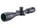 BSA Sweet 17 Rimfire Rifle Scope 3-12x 40mm Adjustable Objective Illuminated Red, Green and Blue Duplex Reticle Matte