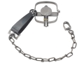 Duke #1 LS Long Spring Trap Steel Silver