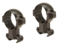 Millett 1&quot; Angle-Loc Windage Adjustable Ring Mounts Tikka Matte High