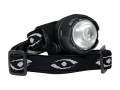 Cyclops Atom Headlamp White LED with Batteries (2 CR2032) Polymer Black