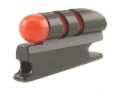 "NECG Universal Front Ramp Interchangeable Front Sight .177"" Height .158"" Fiber Optic Red"
