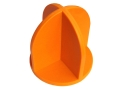 Do-All Impact Seal Ground Bouncing Top Hat Reactive Target Self Healing Polymer Orange