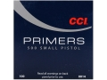 CCI Small Pistol Primers #500 Case of 5000 (5 Boxes of 1000)