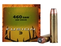 Federal Fusion Ammunition 460 S&amp;W Magnum 260 Grain Jacketed Hollow Point Box of 20