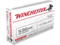 Winchester USA Ammunition Q3131 5.56x45mm NATO 55 Grain Full Metal Jacket