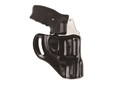 "Galco Hornet Belt Holster Right Hand S&W J Frame 2"" Barrel Leather Black"