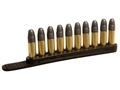 Tuff Products Quickstrip 17, 22 Caliber 10 Round Polymer Package of 2 Black