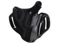 "DeSantis Thumb Break Scabbard Belt Holster Right Hand Ruger SP101 2-1/4"" Leather Black"