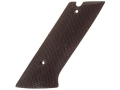 Vintage Gun Grips High Standard H-D USA Military 22 Rimfire Polymer Black
