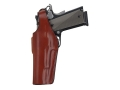 Bianchi 19 Thumbsnap Holster Left Hand 1911, Browning Hi-Power Leather Tan
