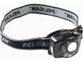 Pelican 2720 Headlamp White and Red LED Bulb Wave Activated On/Off Polymer Black