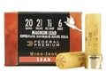 Federal Premium Wing-Shok Ammunition 20 Gauge 2-3/4&quot; 1-1/8 oz Buffered #6 Copper Plated Shot Box of 25