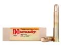 "Hornady Dangerous Game Ammunition 500 Nitro Express 3"" 570 Grain DGS Round Nose Solid Box of 20"