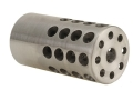 Vais Muzzle Brake 1&quot; 223 Caliber 11/16&quot;-24 Thread 1&quot; Outside Diameter x 2&quot; Length Stainless Steel