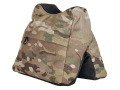 Product detail of CrossTac Saddle Bag Front Shooting Rest Bag Nylon and ToughTek Multicam Camo/Black