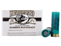 "Lightfield Wildlife Control Less Lethal Ammunition 12 Gauge 2-3/4"" Close Range 00 Rubber Buckshot 21 Pellets Box of 5"
