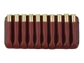 Boyt Ammo Wallet Rifle Ammunition Carrier 10-Round Short Magnum Cartridges Leather Brown