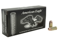 Federal American Eagle Suppressor Ammunition 45 ACP 230 Grain Subsonic Full Metal Jacket Box of 50
