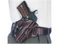 Galco Concealable Belt Holster Right Hand H&K P2000, USP Compact Leather Brown