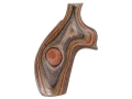 Product detail of Hogue Fancy Hardwood Grips Taurus Medium and Large Frame Revolvers Round Butt Lamo Camo