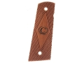 Caspian Grips 1911 Government, Commander Bubinga with Caspian Logo