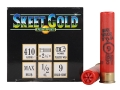 NobelSport Skeet Gold Ammunition 410 Bore 2-1/2&quot; 1/2 oz #9 Shot Box of 25