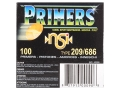 NobelSport Primers #209 Shotshell Case of 5000 (50 Trays of 100)