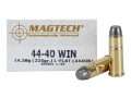 Product detail of Magtech Cowboy Action Ammunition 44-40 WCF 225 Grain Lead Flat Nose Box of 50