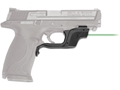 Crimson Trace Laserguard S&W M&P 45 ACP Full-Size & Compact Green Laser Polymer Black