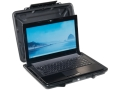 "Pelican 1085 HardBack Laptop Case with Liner and Carry Strap 14"" Polymer Black"