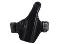 Bianchi Allusion Series 130 Classified Outside the Waistband Holster Right Hand Glock 19, 23, 32 Leather Black