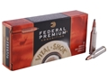 Federal Premium Vital-Shok Ammunition 243 Winchester 85 Grain Trophy Copper Tipped Boat Tail Lead-Free Box of 20