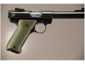 Hogue Extreme Series Grip Ruger Mark II, Mark III Aluminum Matte Green