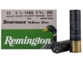 Remington Sportsman Hi-Speed Ammunition 12 Gauge 3-1/2&quot; 1-3/8 oz BB Non-Toxic Steel Shot Case of 250 (10 Boxes of 25)
