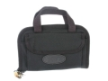 "Boyt Pistol Case 9"" x 6"" Canvas Black"