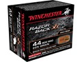 Winchester Razorback XT Ammunition 44 Remington Magnum 225 Grain Hollow Point Lead-Free Box of 20