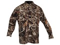 Drake Men's EST Heat-Escape Waterproof Shirt Long Sleeve Polyester Realtree Max-4 Camo Large