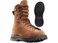 "Danner Hawk 8"" Waterproof 200 Gram Insulated Hunting Boots Leather Brown Men's 7 D"