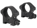 Talley 30mm Tactical Picatinny-Style Rings Matte Low
