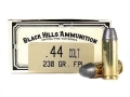 Product detail of Black Hills Cowboy Action Ammunition 44 Colt 230 Grain Lead Flat Nose Box of 50