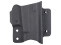 Comp-Tac MTAC Minotaur Inside the Waistband Holster Body Right Hand Glock 9mm Luger, 40 S&amp;W Slide Kydex Black